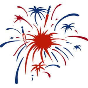 Firework clipart. Maercon hairstyle fireworks free