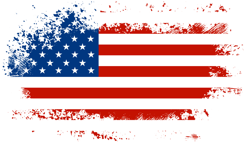 Banner clip art hubpicture. Firework clipart american flag