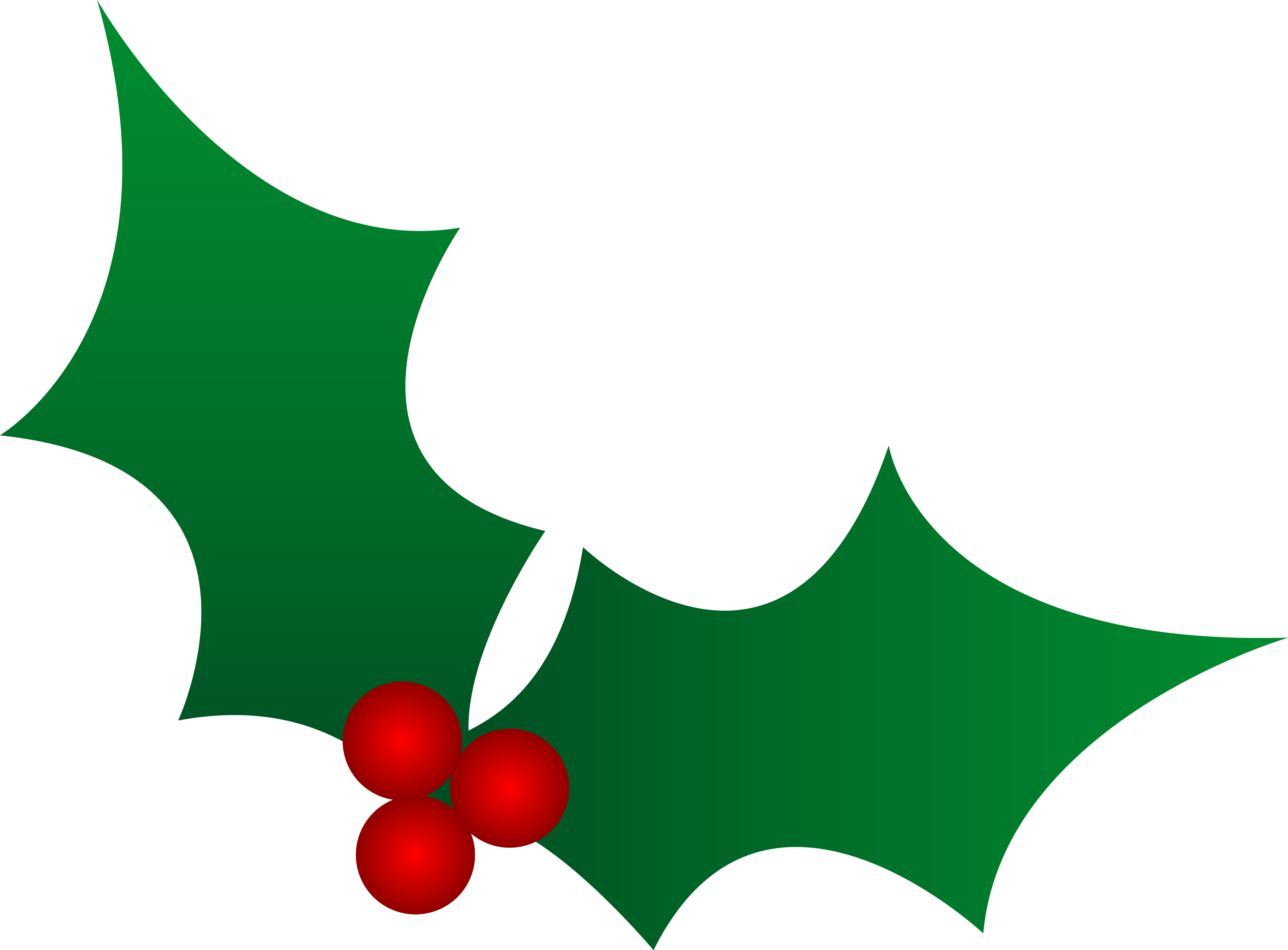 Green christmas clip art. Ivy clipart holly and ivy