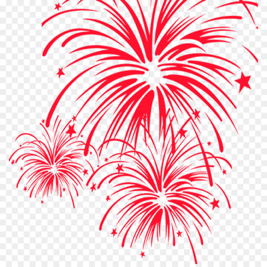 New year red background. Firework clipart firework chinese