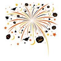 Design stock vectors me. Firework clipart halloween