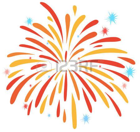 Free fireworks download clip. Firework clipart orange