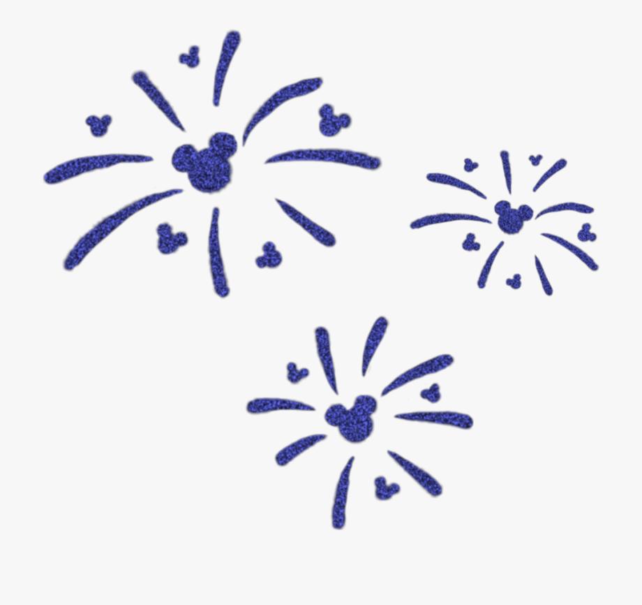Mickeymouse disney mickey fireworks. Firework clipart silhouette