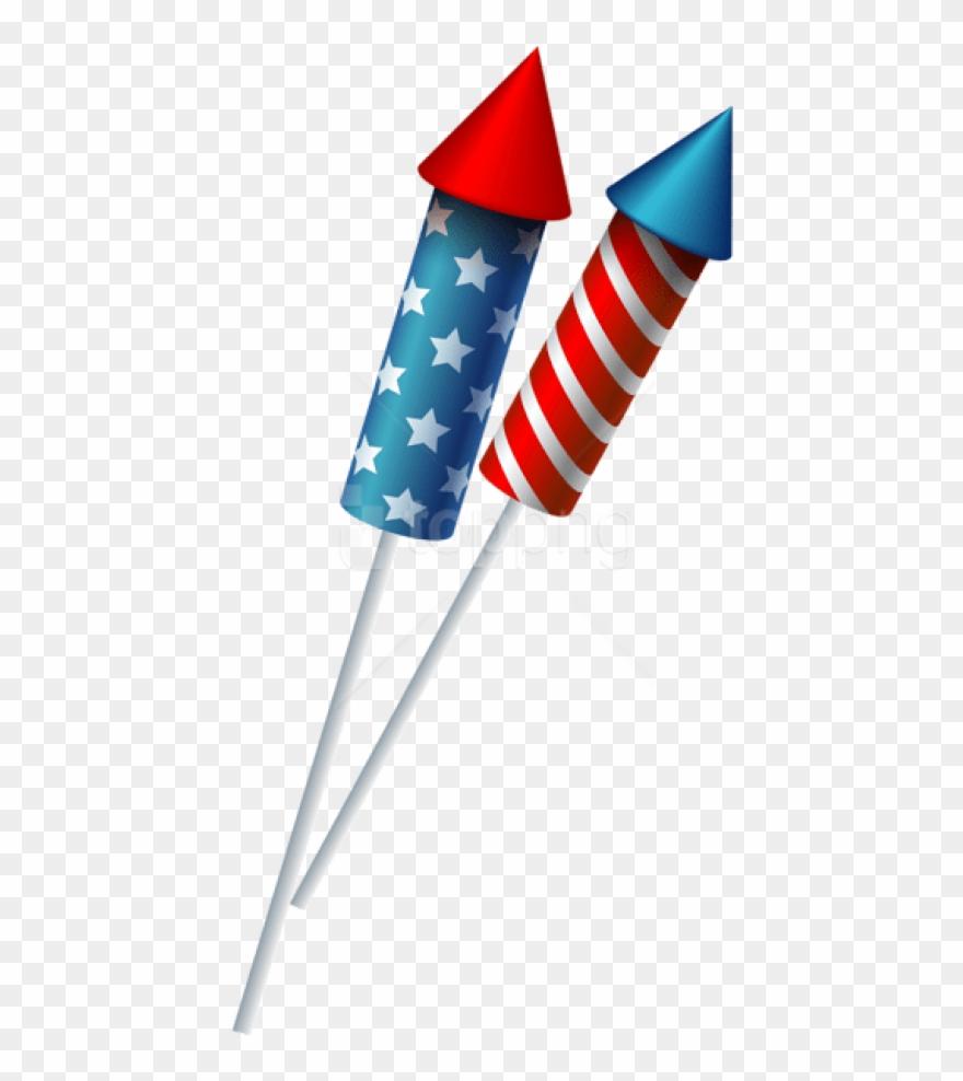 Fireworks clipart sparkler. Free png download usa