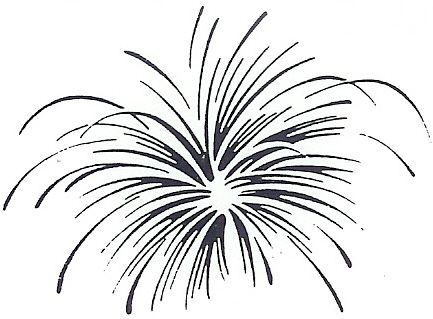 Dualduty for the love. Fireworks clipart doodle