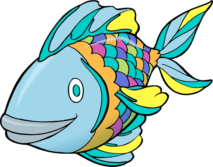 Fish clipart. Free for kids vectors