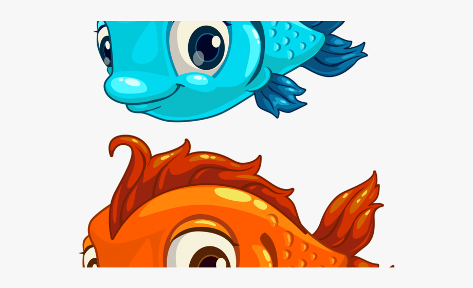 Jellyfish animated fishes . Fish clipart adorable