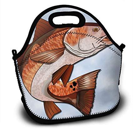 Fish clipart bag. Amazon com cartoon red