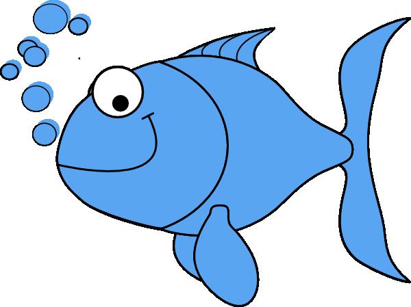 Fish clipart blue. Cartoon light clip art