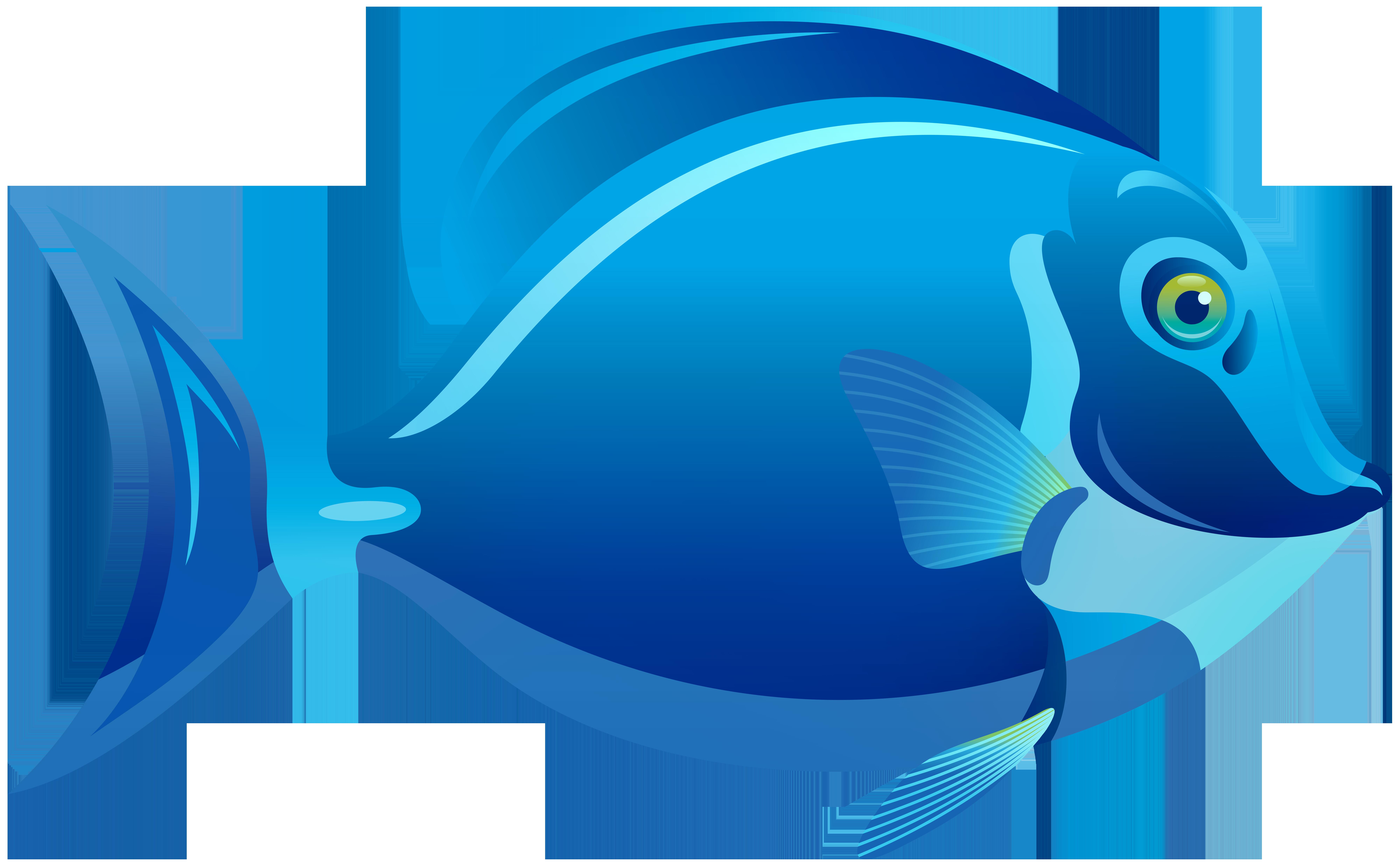 Fish clipart blue. Png best web