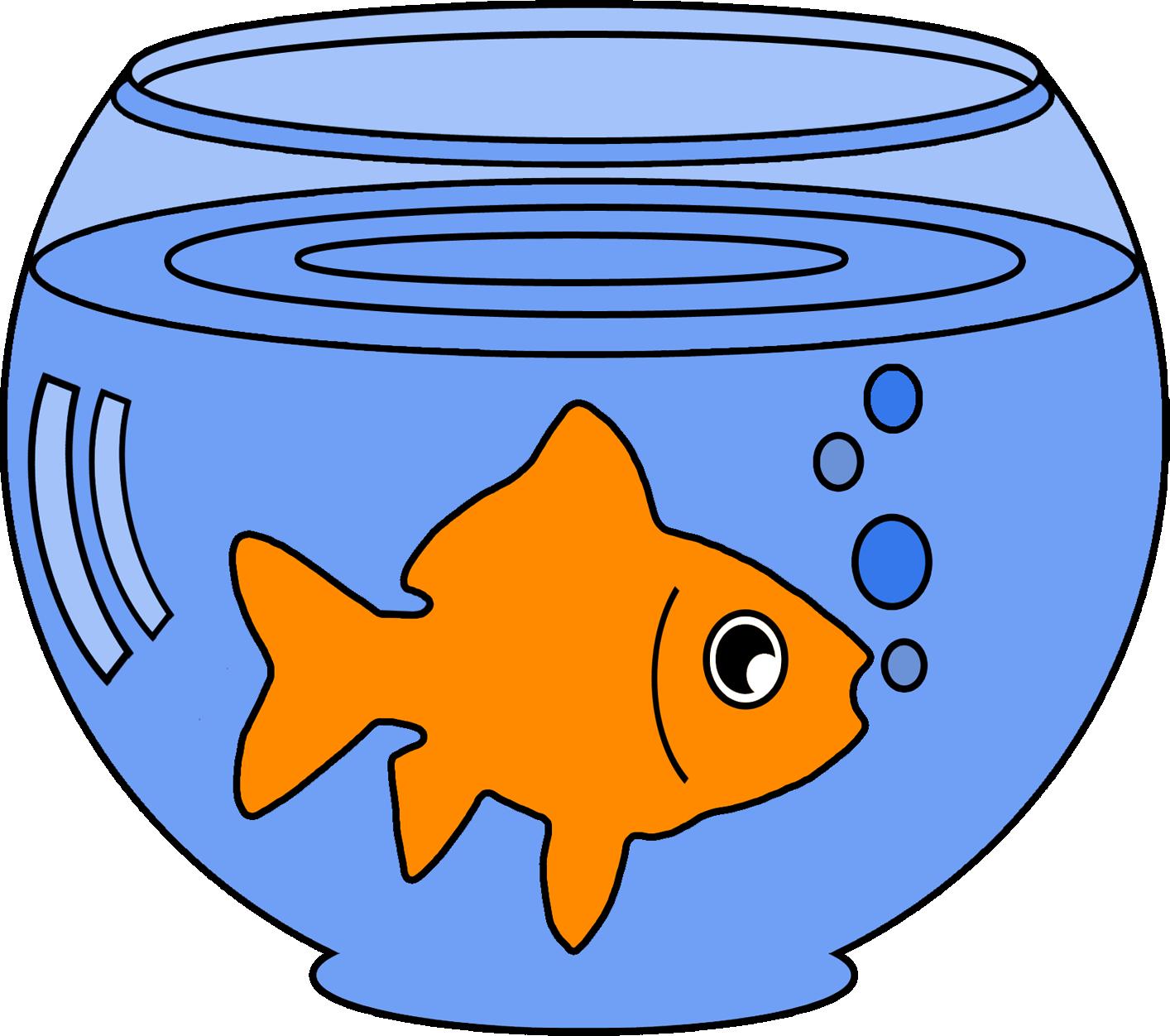 fish clipart bowl