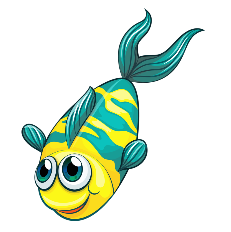 Fish clipart boy.  png and clip