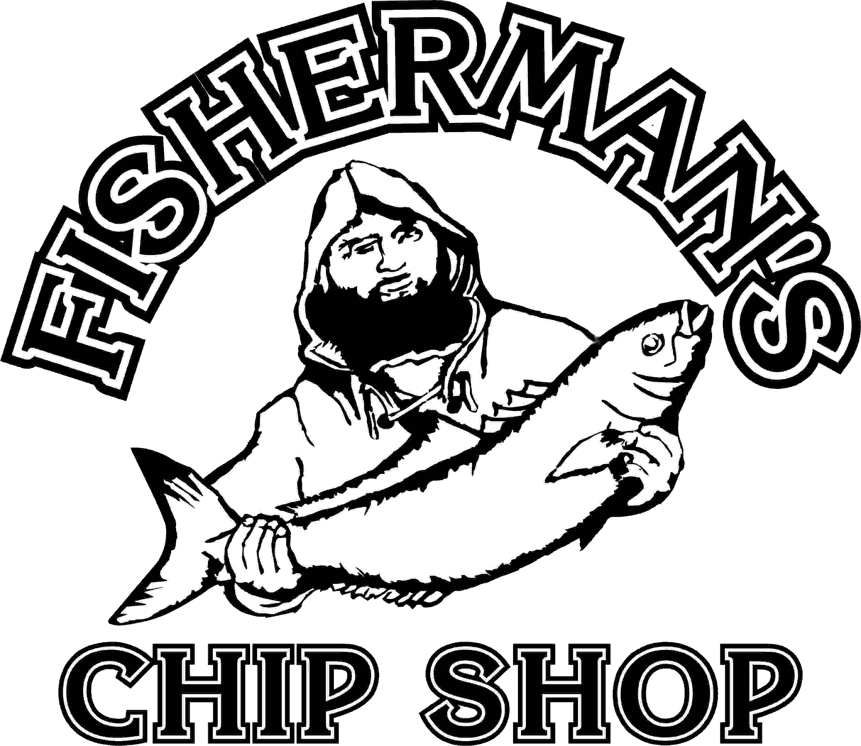Fish and chips drawing. Fisherman clipart fishing peter