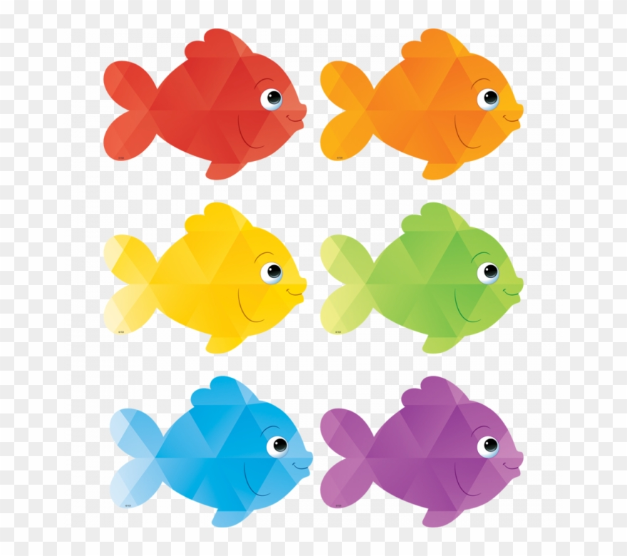 Fish clipart cut out. Goldfish colorful colored to
