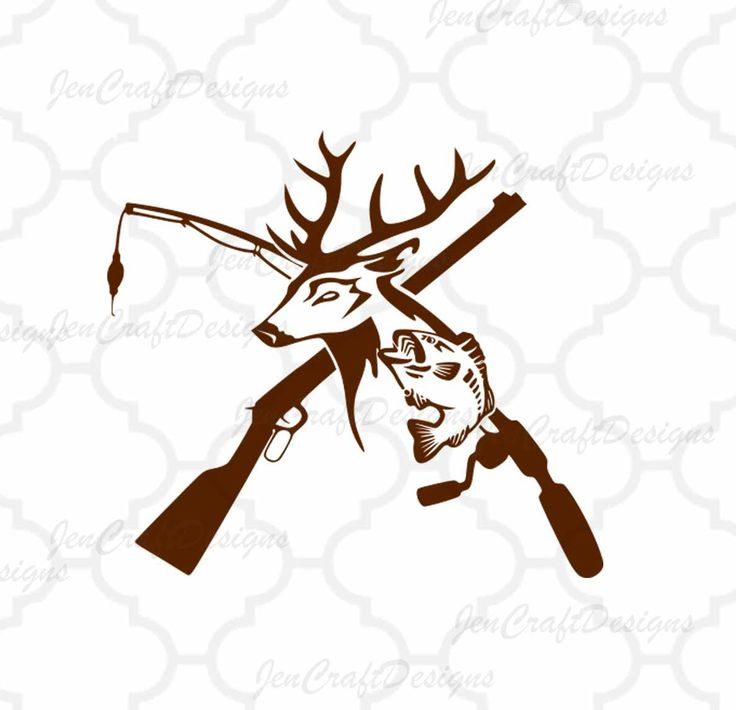 Fish clipart deer. And