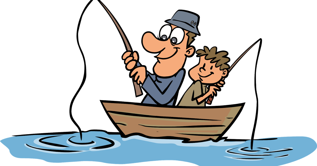Dorchester times free family. Fisherman clipart river fishing