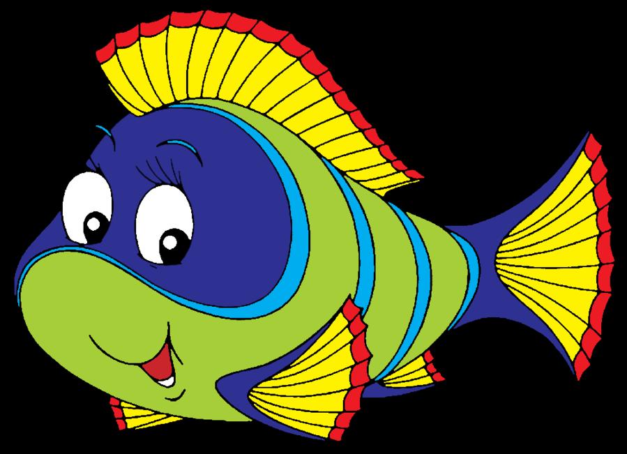 Goldfish clipart sick. Colorful fish clip art