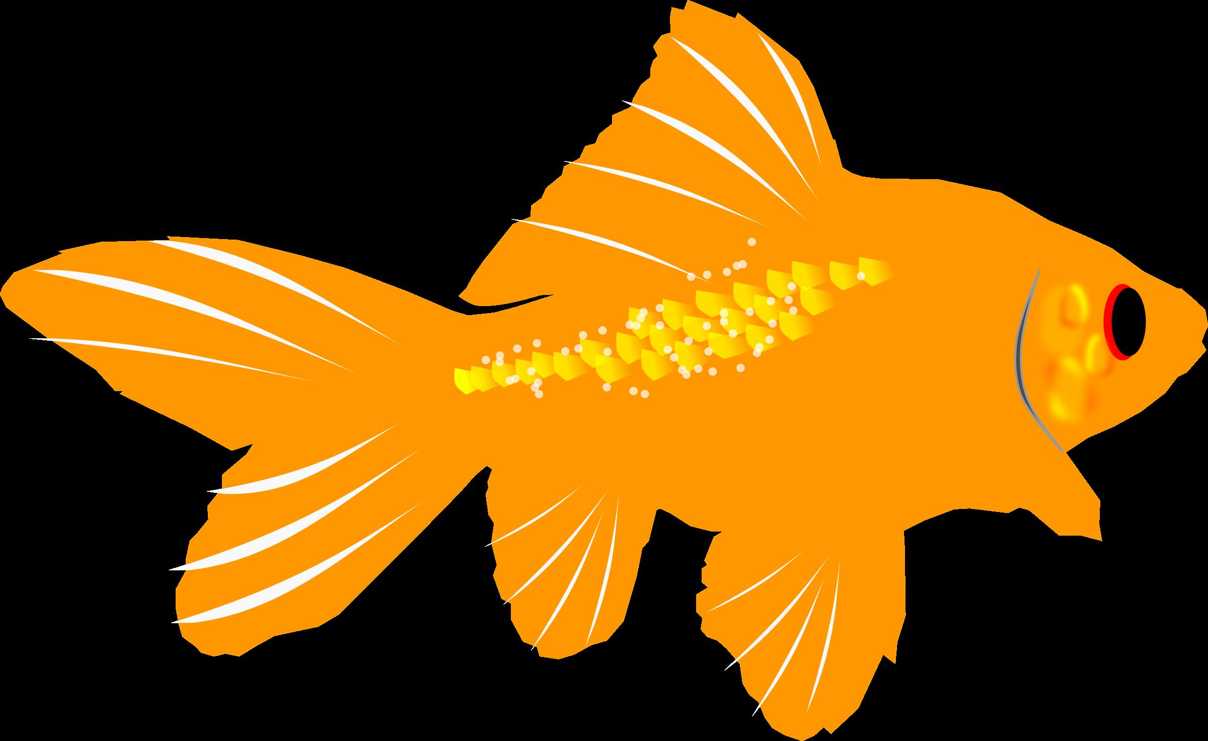 Fish clipart goldfish.
