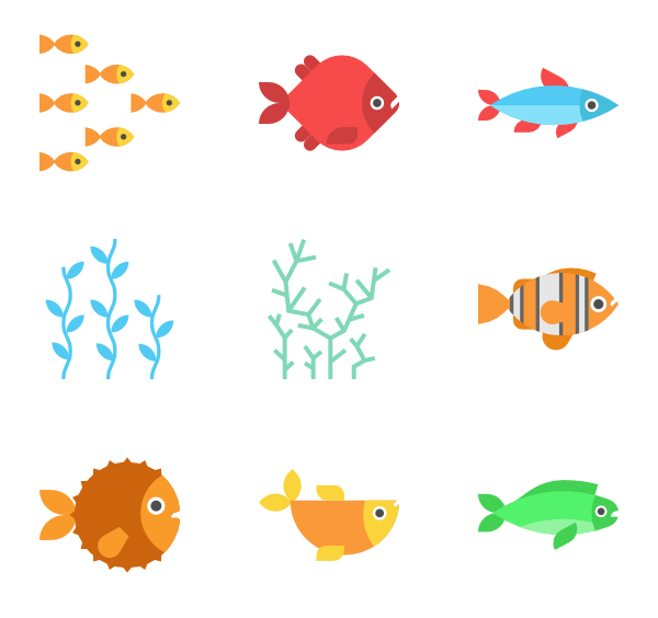 icon packs svg. Fish vector png