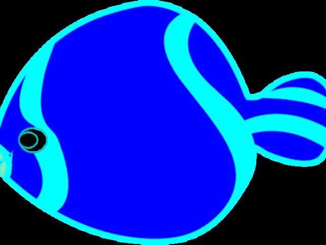 X free clip art. Fish clipart light blue