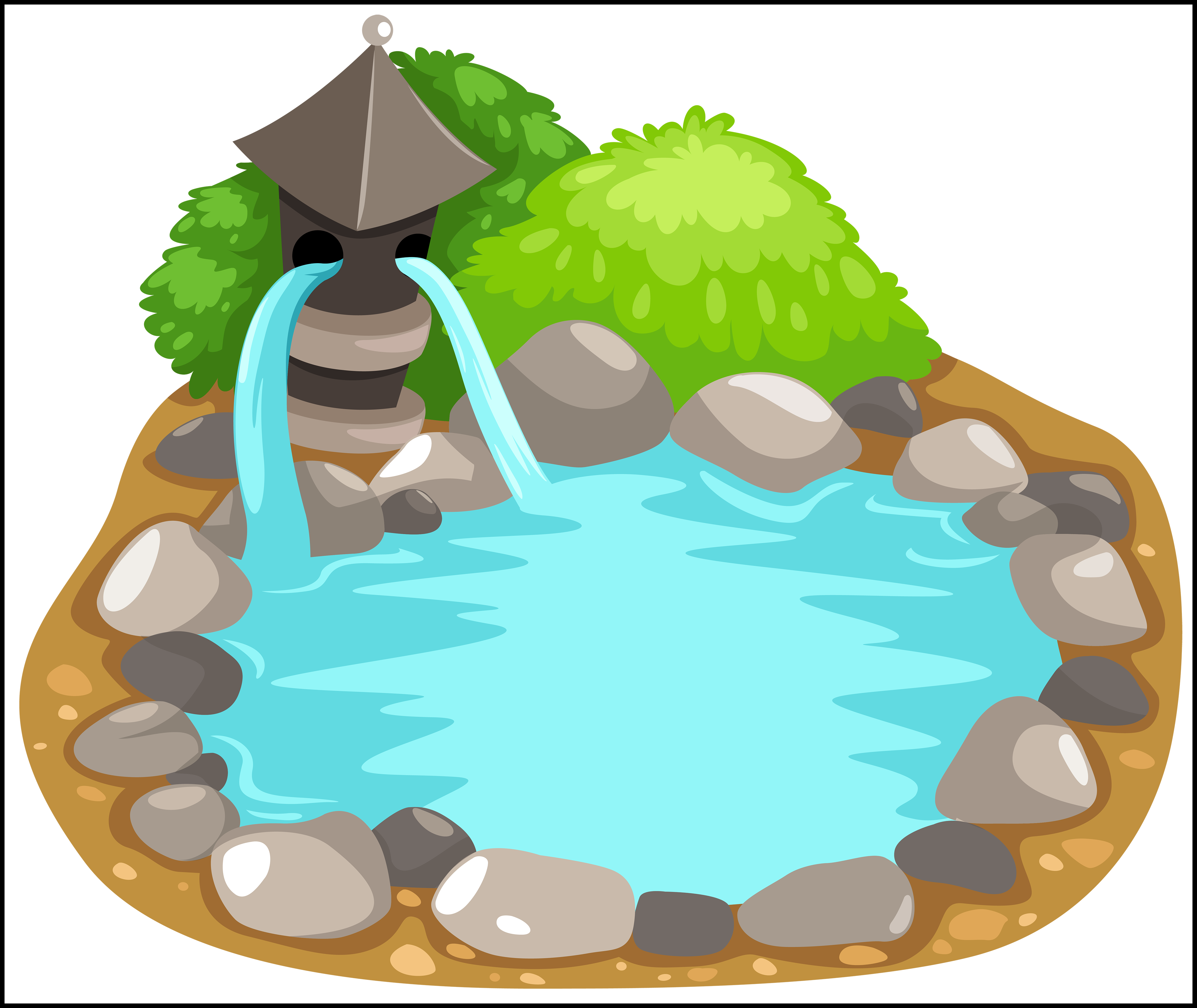 Ducks clipart pond cartoon. Appealing png and clip