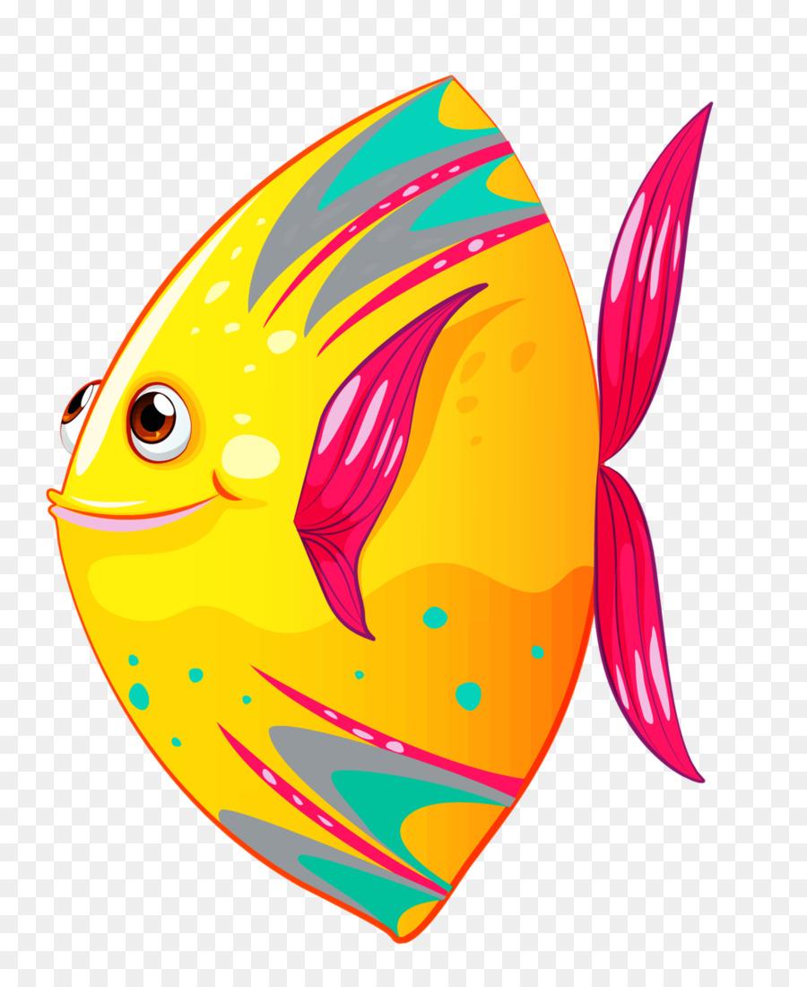 Animal cartoon transparent clip. Fish clipart summer