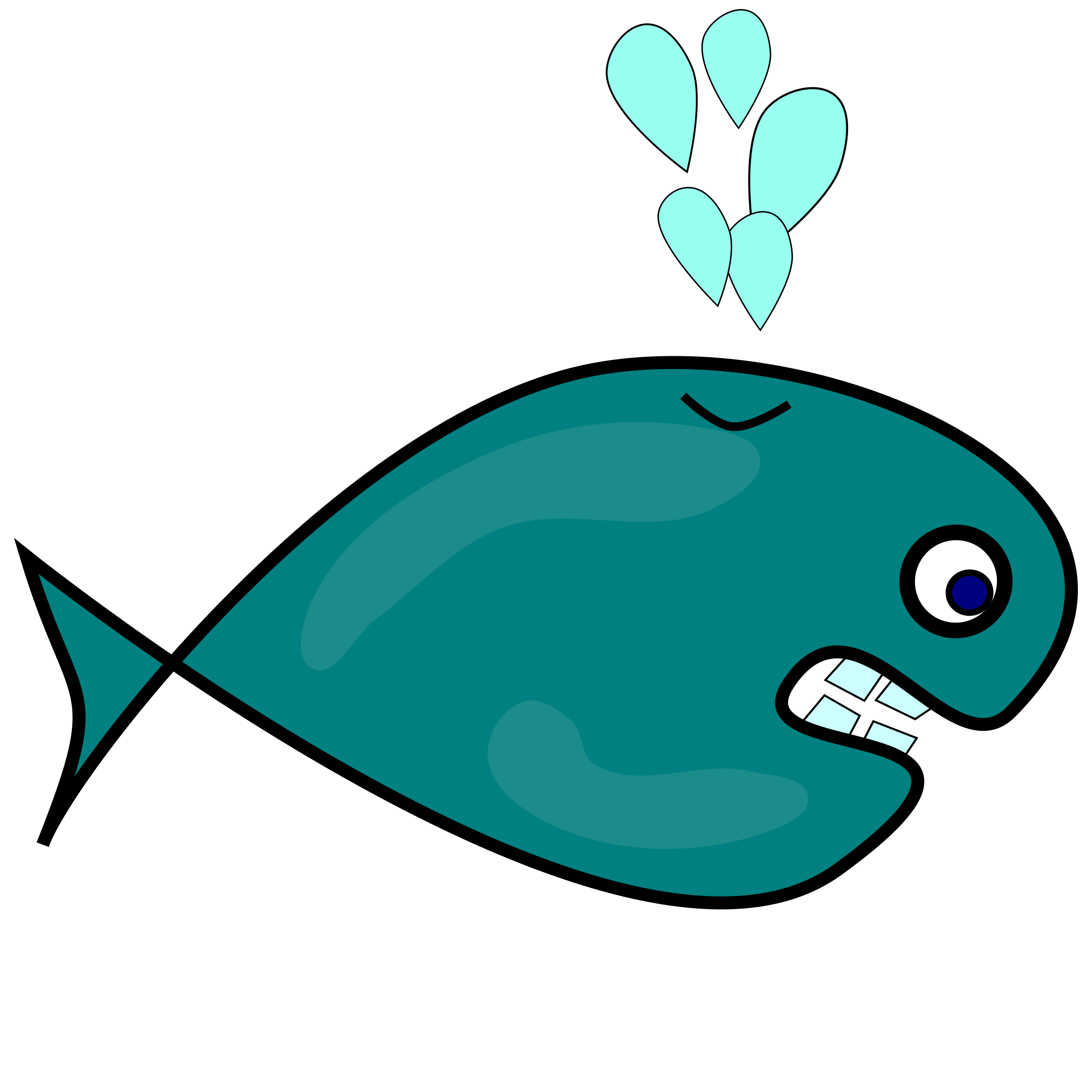 Fish clipart whale. Big image png