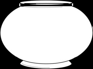 Blank clip art at. Fishbowl clipart
