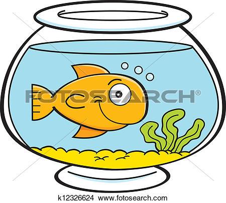 fish bowl clip. Fishbowl clipart animated