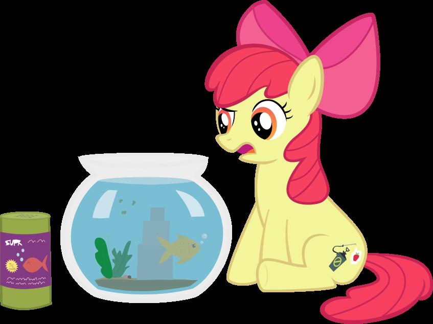 alternate cutie mark. Fishbowl clipart background