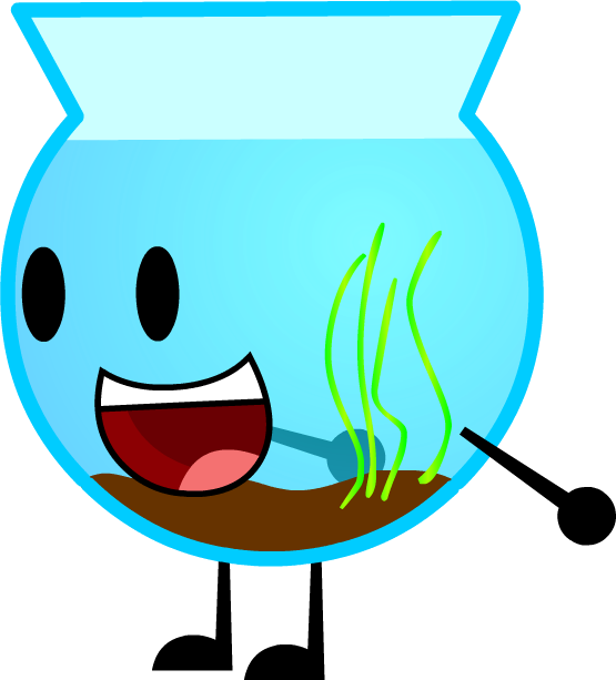 Fishbowl clipart bowl water. Commission by kitkatyj on