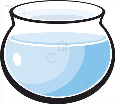 fishbowl clipart bowl water