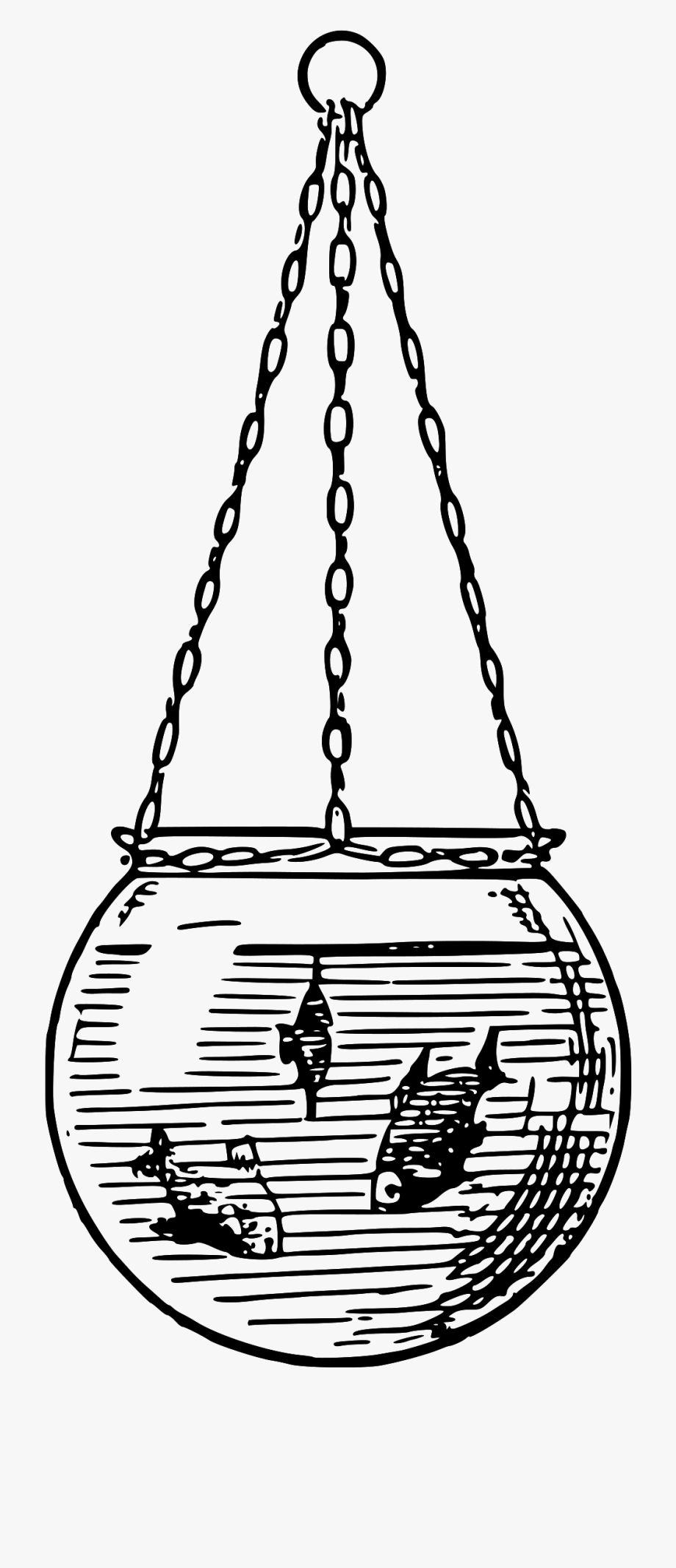 Fishbowl clipart cage. Black and white shoulder