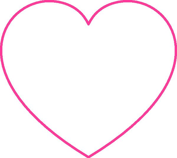 Empty heart clip art. Florida clipart blank
