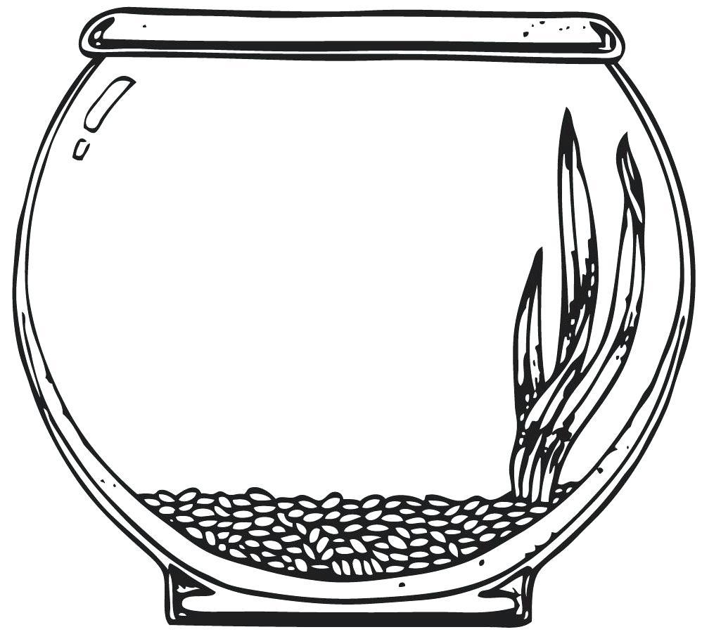 Fishbowl clipart empty fish tank, Fishbowl empty fish tank ...