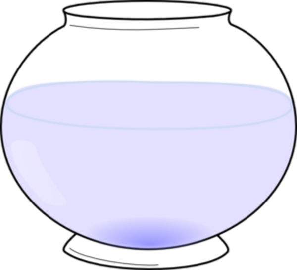 Free images at clker. Fishbowl clipart empty vase