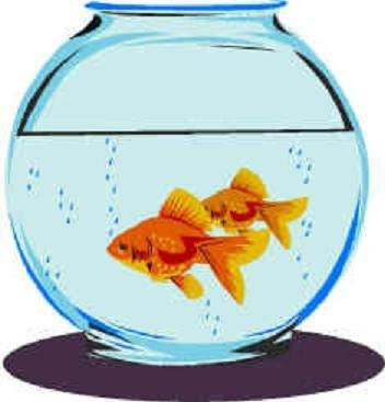 Free coloring pages clip. Fishbowl clipart fish bowl