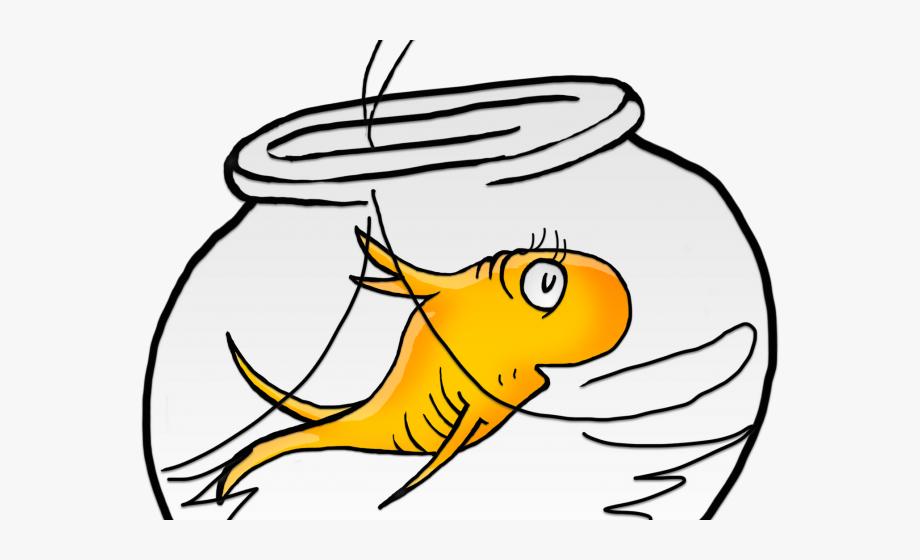 Fishbowl clipart one fish two fish. Fishtank dr seuss bowl