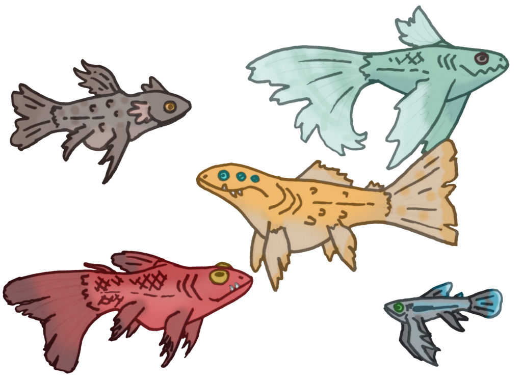 Fishbowl clipart one fish two fish. Bowl monsters offer to