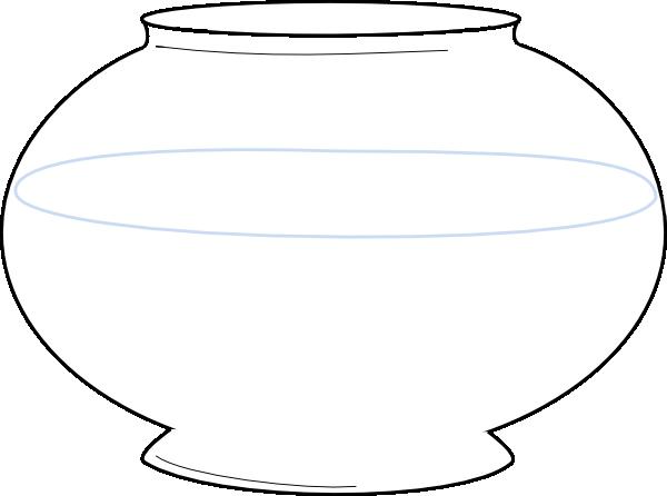 Free fish bowl template. Fishbowl clipart printable