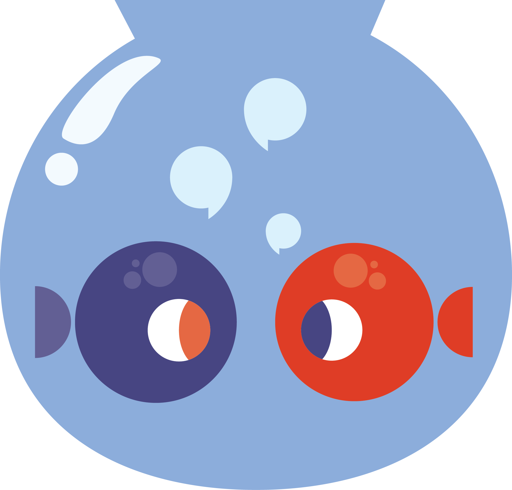 Fishbowl clipart transparent. Panel moderating discussion between