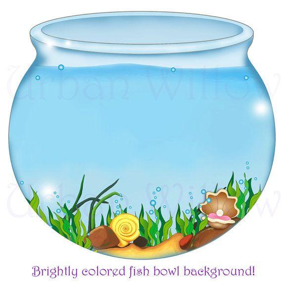 Fishbowl clipart turtle tank. Fish bowl image digital