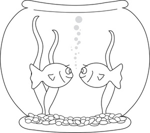 Free cliparts download clip. Fishbowl clipart two