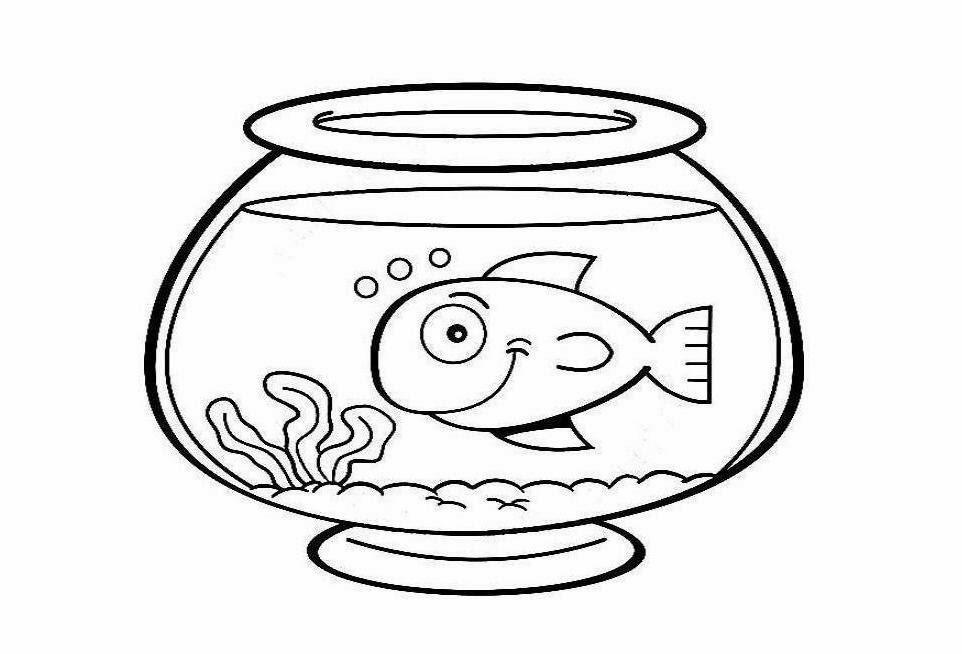 Fish bowl free empty. Fishbowl clipart vector