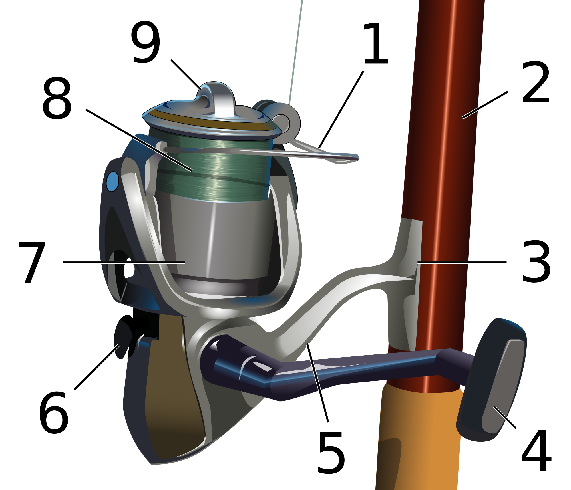 Top rated rod and. Fishing clipart fishing reel