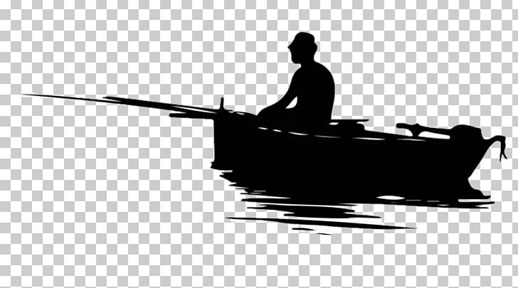 Fisherman clipart boating. Fishing silhouette png black