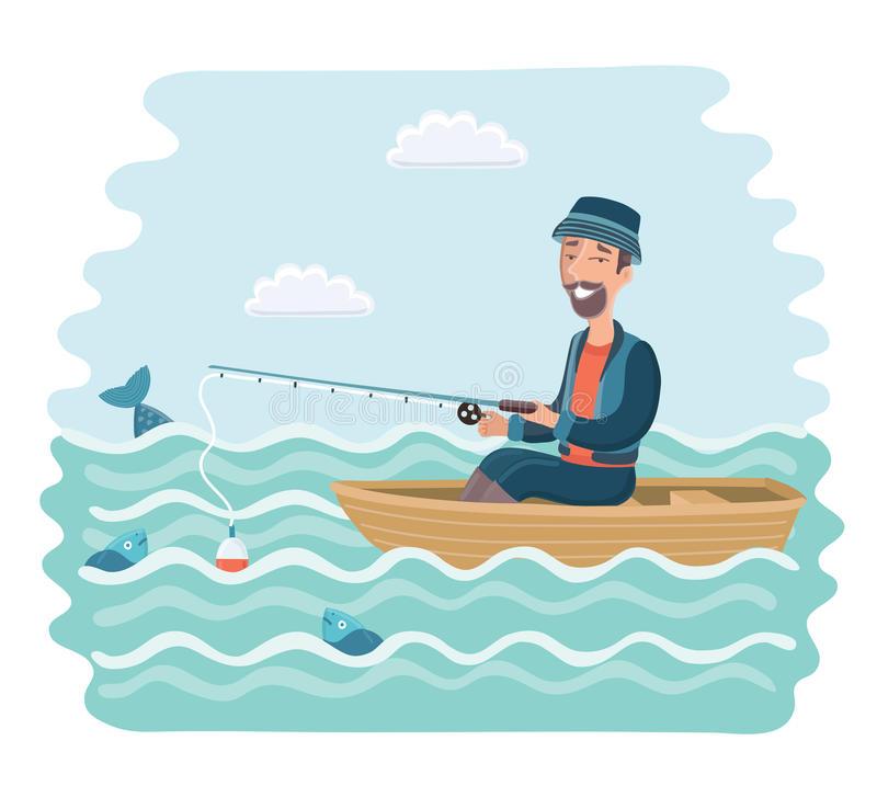 Free fishing ship download. Fisherman clipart boatman