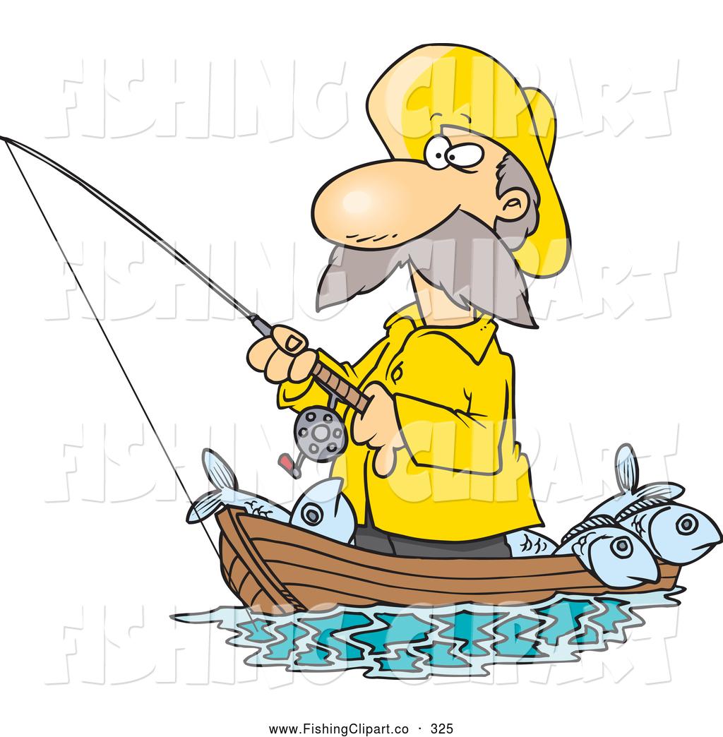 Fisherman clipart boatman. Free fish net download