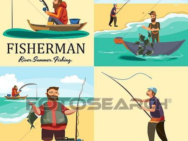Free fishing net download. Fisherman clipart boatman