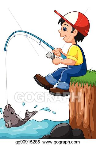 Fisherman clipart child. Free download clip art